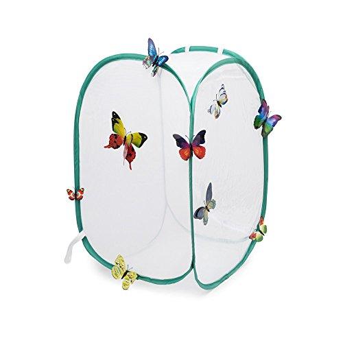 Hyindoor Insekt Und Schmetterling Habitat Käfig Terrarium Pop-Up Schutz Käfig
