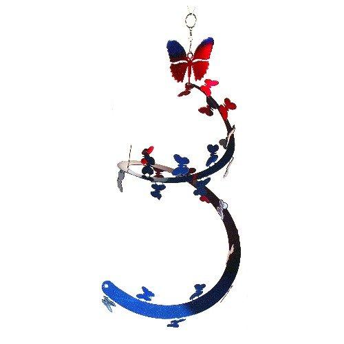 Next Innovations selbflybr blau und rot Schmetterling eyspi groß