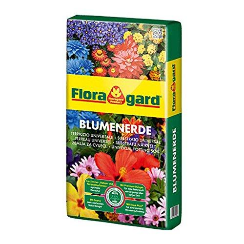 Blumenerde 5 L Zimmer Balkon und Gartenpflanzen Floragard