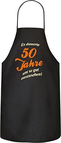 RAHMENLOS Original BBQ Grillschürze Das Geschenk zum 50Geburtstag Nr 1736