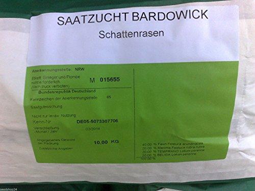 Rasen Dürreresistente Rasenmischung Schattenrasen 5kg für ca 150 m² Gras Rasensamen - Qualität zum Fairen Preis