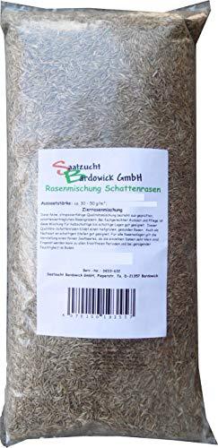 Rasen Schattenrasen Grassamen Rasensamen Rasensaat Gras 25kg Gras - Qualität zum Fairen Preis