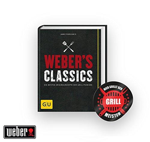 Webers Classics Die besten Originalrezepte der Grill-Pioniere  Grillmeister Sticker by Collectix