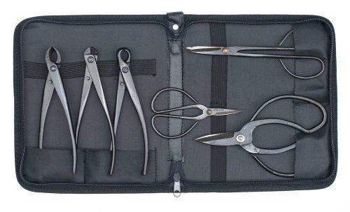Bonsai Werkzeug Kit - 6 Stück Set und Fall Für anfänger geeignet