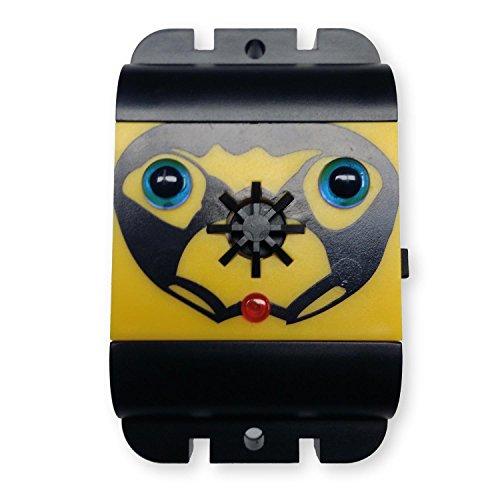 ISOTRONIC Taubenabwehr Batterie betriebener Vogelschreck für Balkon Ultraschall Vogelabwehr ohne Spikes 1er-Pack