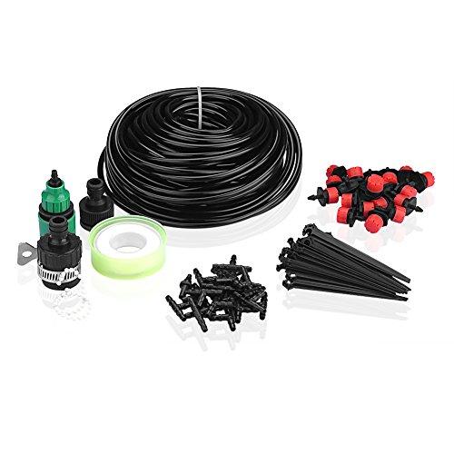 SIENOC Micro Drip Bewässerungssystem Pflanze Self Watering Garten Schlauch Kits 65pcs 20m