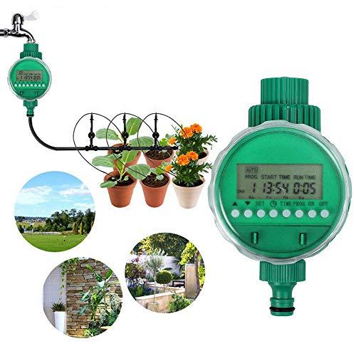Boruit LCD Wasserdichte Digital Wasser Timer Automatische Bewässerung Timer Elektronische Garten Bewässerungscomputer
