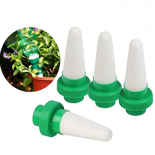 Kyerivs Keramik Automatische Pflanzen Bewässerung Bewässerungssystem Zimmerpflanzen Wasserspender Kegel Tropf für GartenZimmerpflanzeBlumen 4er-Set
