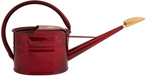 Haws Slimcan 5 Liter Rot Metallic Rubinrot Gießkanne verzinkt