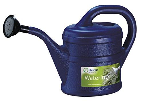Gießkanne Inhalt 2 Liter aus Kunststoff Farbeblau
