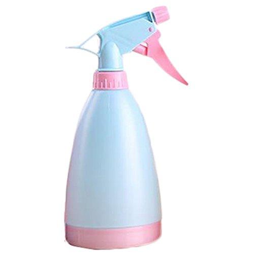 Kentop Spray-Flasche Handdruck Wasser-Spray Gießkanne für Bewässerung Blumen Gartenpflanze Kunststoff GießKanne Blau