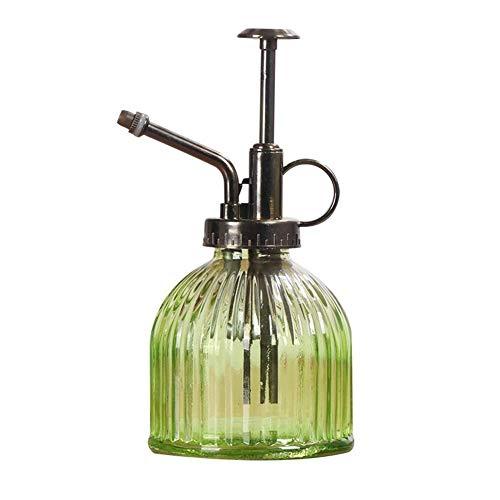 Xianjun Sprühflasche Retro Gießkanne aus Glas Gießkanne Kettle Gießkanne Garten-Werkzeuge für Bonsai Blumen grün