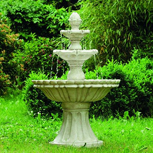 """KÖHKO Wasserspiel Markleeberg"""" klassischer Etagenbrunnen Vogelbad 13010 Springbrunnen Gartenbrunnen"""