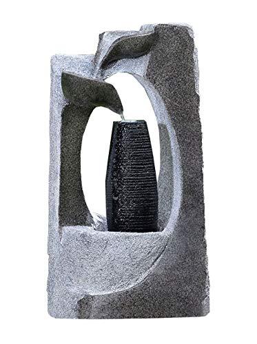 Kiom Brunnen Springbrunnen FoColonnina für Aussen  Innen 87 cm