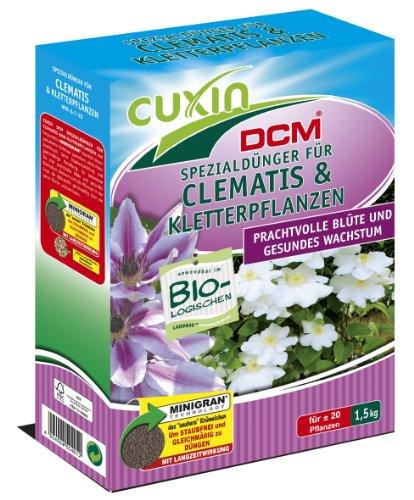 CUXIN DCM Spezialdünger für Clematis und Kletterpflanzen 15 kg