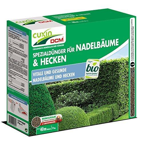 Cuxin DCM Spezialdünger für Nadelbäume Hecken 3 kg