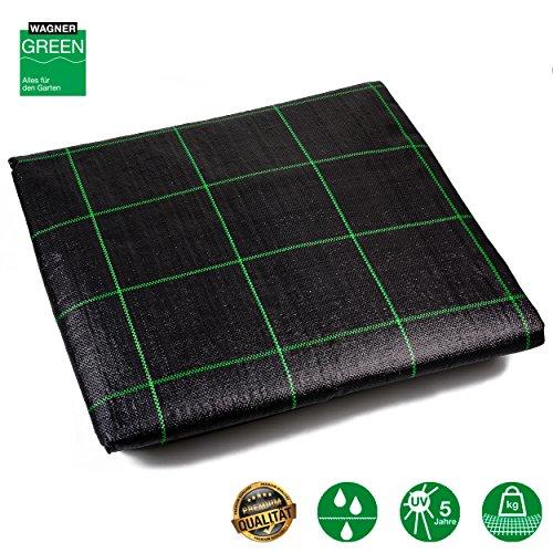 Unkrautvlies Bodengewebe Fertigmaß  15m x 20m  30m²  100g m²  wasserdurchlässiges Vlies mit UV- Stabilisierung  Unkraut-Schutzvlies aus PP Bändchengewebe  Profiqualität