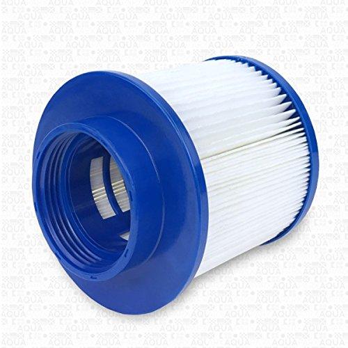 AQUAPARX Filter Whirlpool Ersatzfilter Wellness Spa Whirlpoolzubehör Lamellen geeignet für Aqua Spa Aquaparx Ospazia G Spa Bcool Mspa Nordic Spa Intex etc