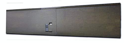 HN Kernstützen Metallwaren Rasenkante Beeteinfassung und Wegbegrenzung aus Metall 135 cm x 120 m 345 m 570 m 1140 m 2275 m 2960 m Farbe verzinkt Verlegelänge 5er Set 570 m