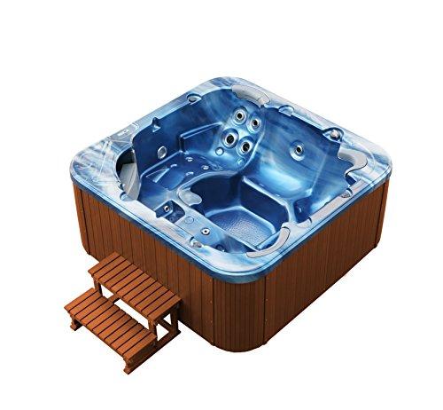 American Whirlpool Outdoor 215x215cm  Außenwhirlpool 5 Personen