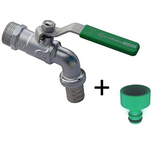 34  Garten Wasserhahn Wasser hebeltyp Ventil grüner Griff plus Verbindung hazelock compatybile
