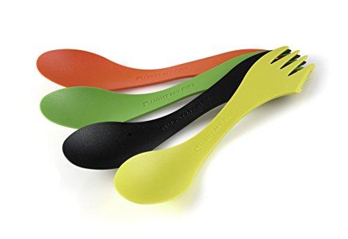 Light my Fire original 4-Pack Spork O Die Klassische Messer-Gabel-löffel-Kombination Mehrfarbig One Size