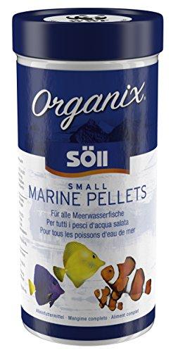 Söll 17865 Organix Small Marine Pellets Zierfischfutter 1er Pack 1 x 490 ml - 490 ml
