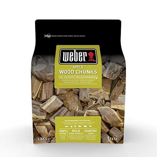 Weber Räucherchips Wood Chunks Apfelholz braun 178 x 89 x 305 cm 17616