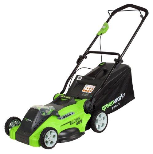 Greenworks Tools 40V Akku-Rasenmäher 40cm Schnittbreite ohne Akku und Ladegerät - 2500007