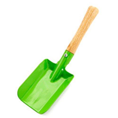 Doitsa 1pcs Kleine Schaufel mit Holzheft Metall Kehrschaufel Home Gartenarbeit Werkzeuge Für Kinder spaten 2065cm Rosa
