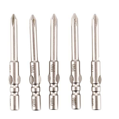 Goto S2 Stahl 5 Stücke Magnetische Präzision Philips Schraubendreher-Bits Set Kreuzspitze Hand Reparatur Öffnungswerkzeuge für iPhone Handy