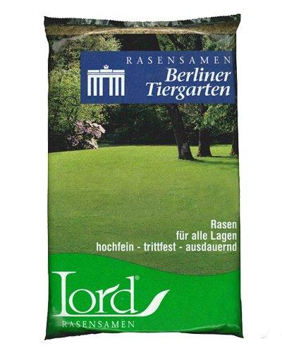 Lord Rasensamen Berliner Tiergarten 25 kg - Allzweckrasen mit guter Narbendichte