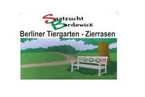 Rasen Berliner Tiergarten Grassamen Rasensamen Rasensaat Gras 25kg - Eleganter Zierrasen - Qualität zum Fairen Preis