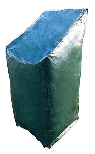 Royal Gardineer Gartenstuhl Abdeckung Gewebe-Abdeckplane für Stapel-Gartenstühle 65 x 100150 x 65 cm Planen