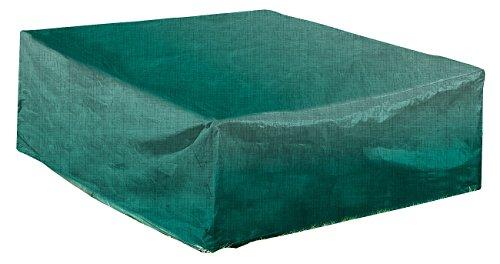 Royal Gardineer Gartentisch Abdeckplanen Gewebe-Abdeckplane für rechteckigen Tisch 200 x 70 x 160 cm Tischabdeckung