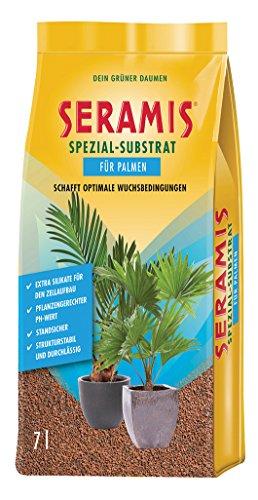 Seramis Ton-Granulat als Pflanzenerden-Ersatz für Palmen Spezial-Substrat 7 Liter