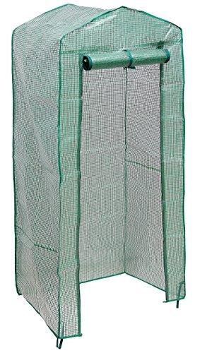 Gewächshaus Abdeckung Wasserdicht und Wind-Widerstand und Tragbare Robustes Design Ideal für Indoor Outdoor Geburtstag Chrismas Geschenk 4 Tier OHNE Regale
