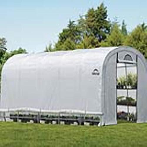 ShelterLogic Gewächshaus Foliengewächshaus Tomatenhaus  610x370x250cm LxBxH  2257m²  Folienhaus Folienzelt