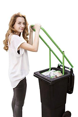UPP Müllpresse für 60 120 und 240 Liter Mülltonnen - Mit Müllverdichter bis 50 Müllkosten Sparen - Für Papier Restmüll etc geeignet