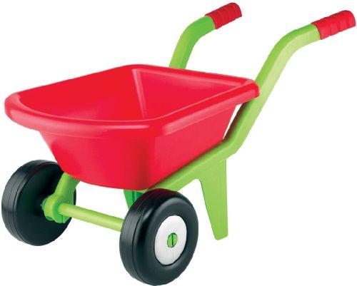 0618 Kinderschubkarre mit zwei Rädern wendig und stabil 58 cm • Kinder Schubkarre 2 Rad Schiebkarre Sandkasten-Spielzeug