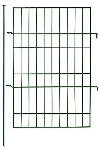 GreenYard IGYGZF070 Tor-Element für Zaun-Set Grün 48 x 1 x 80 cm