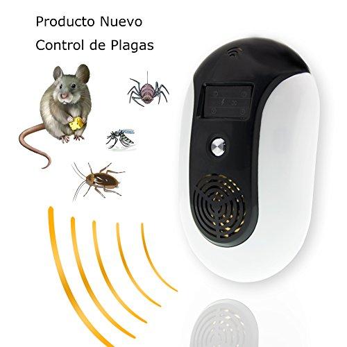 CITTATREND Ultraschall Schädlingsbekämpfer Haustierfreundlich Pest Repeller mit Elektromagnetische Vertreiber gegen Moskito Insekt Ratten Mäuse Spinnen Ameisen Kakerlaken