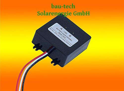 bau-tech Solarenergie 24V 36V 48V Batterie Ladungsausgleicher Ausgleichslader Balancer GmbH