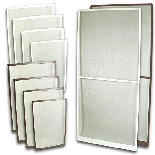 Fliegennetz Fenster Aluminium Rahmen Weiss Größe 130cm150cm Fliegengitter Insektenschutz Gitter Fiberglas