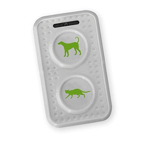 ISOTRONIC mobiler HundeschreckKatzenschreck mit Ultraschall für Scheune Garten Auto und Garage besonders hohe Töne Wechselfrequenz gegen Gewöhnungseffekt batteriebetrieben 1