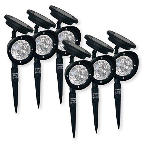 ISOTRONIC LED Solarlampe SolarleuchteSolar Laterne für Garten Balkon und Außen 6