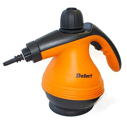 Defort DSC-1200 Dampfreiniger mit 1200 Watt und 30 bar Druck W Orange Schwarz