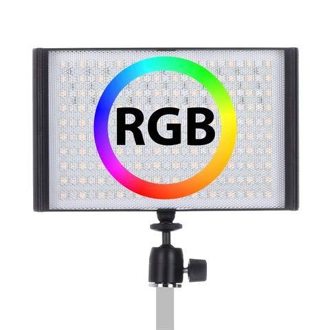 Falcon Eyes RGB LED Lampe Set T8 inkl Akku