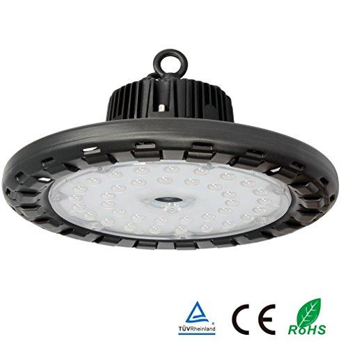 Anten LED Hallenstrahler 100W Fluter Hallenleuchte Hallenbeleuchtung Industriebeleuchtung 14000LM Kaltweiß HallenlichtTÜV-Zertifikat