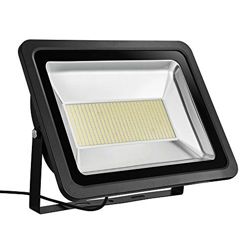 TEquem Warmweiß LED Strahler 10W 20W 30W 50W 100W 150W 200W 300W 500W LED Wandstrahler Lampe Außenstrahler Aluminium Flutlicht Fluter 220V IP65 300W